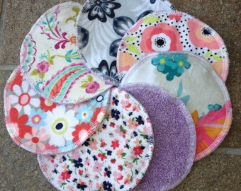 4 Different Sets to Choose From, X-Large Washcloth for Face, Reusable Face Rounds Makeup Remover Pad Scrubby Cloth, Mother and Daughter