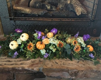 Fall centerpiece, any size!!! Ready to ship! thanksgiving centerpiece, garland
