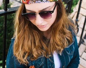 Headbands for Women, Fashion Headbands, Turban Headband, Hair Accessory, Hair Accessories, Women's Headbands, Floral Print Headbands,--Leni