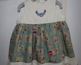 Girl's dress 3 - 6 months