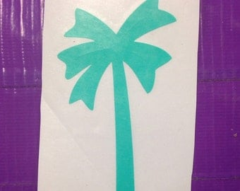 Palm Tree Car Decal