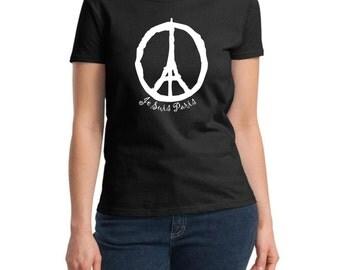 Je Suis Paris Black T Shirt