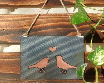 Love Birds Wall Hanging