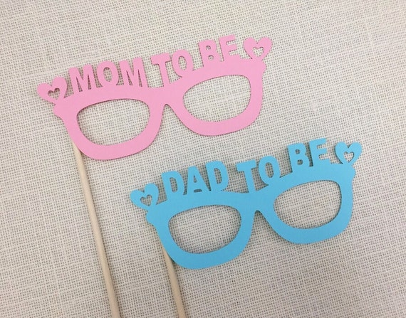 mom to be dad to be glasses props mom and by raiseyourprops. Black Bedroom Furniture Sets. Home Design Ideas