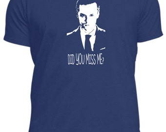 like Sherlock Holmes Moriarty returns did you miss me? new T-shirt tee tshirt all sizes TV male or female,different colours awesome T.V show
