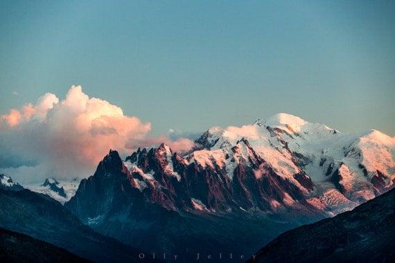 The Massif (ii) A3 Photo Print