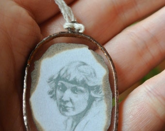 Pendant with foto.
