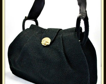 Vintage Woven Handbag,Vintage Handbag,Vintage Woven Purse,Vintage Purse,Vintage Woven Shoulder Bag,Vintage Shoulder Bag, Vintage Pocketbook