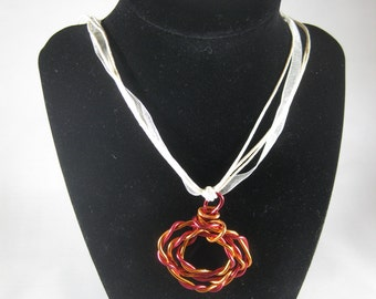Twisted Triple Oval Necklace