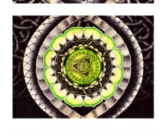 Set of Seven Chakras Prints