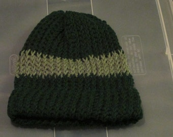 The double green adult hat
