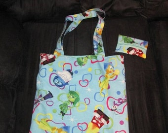 Disney•Pixar Inside Out Tote Bag and Tissue Cover Set