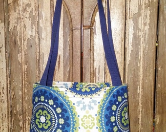 Every Day Tote Bag 'Floral Circles'
