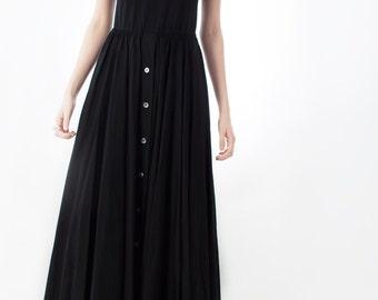 DKNY Cotton Maxi Dress, 1990s