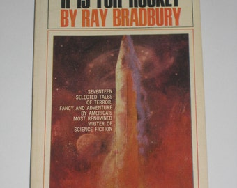 R Is For Rocket by Ray Bradbury vintage scifi paperback book 1969