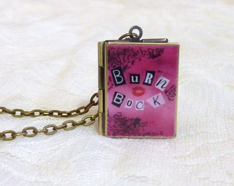 Mean Girls Burn Book Locket