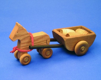 North Star Toys - Horse and Cart