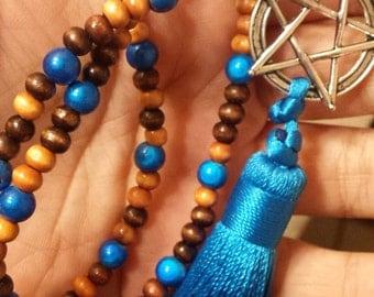 Tassel Pentagram Blue