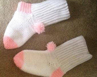 Pompom Socks Slippers