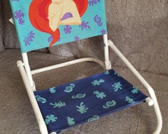 "Vintage 90's ""Little Mermaid"" Toddler Chair"