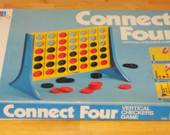 Vintage 1978 Milton Bradley Connect Four Board Game