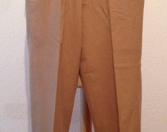 1960s Khakis mens pants