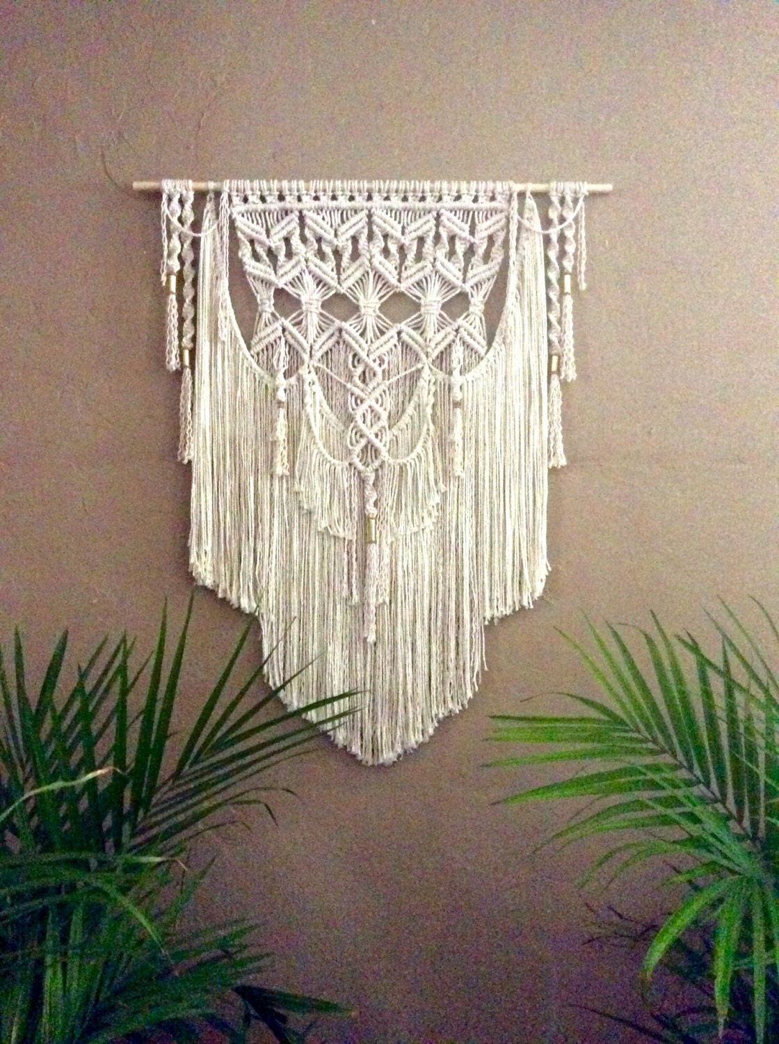 Large Macrame Wall Hanging Tapestry Woven Wall By