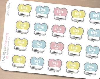 Portrait Planner Accessories Planner Stickers Perfect for Erin Condren, Kikki K, Filofax and all other Planners