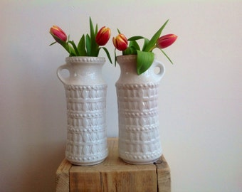 SALE 20 instead of 30! Vintage, retro West-Germany vases. Original items from the 60s/70s