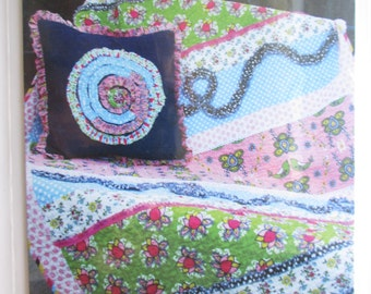 CLEARANCE-Miss Modd Quilt and Pillow pattern by Pink Fig Patterns