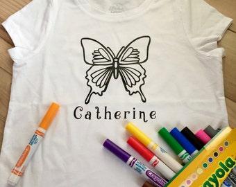 Children's Coloring T-shirt