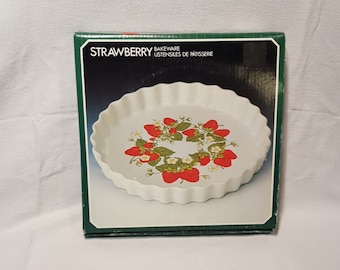 Vintage Ceramic Stoneware Quiche/Tart Dish