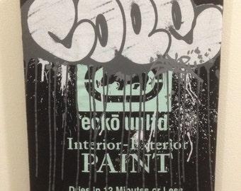 Canvas Wall Art - Graffitti