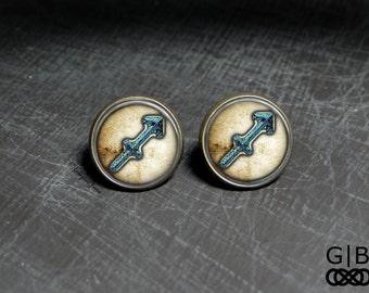 Sagittarius Astrology Studs Sagittarius Present Studs - Sagittarius Earrings Studs - Birthday Astrology Sagittarius Studs Earrings Jewelry