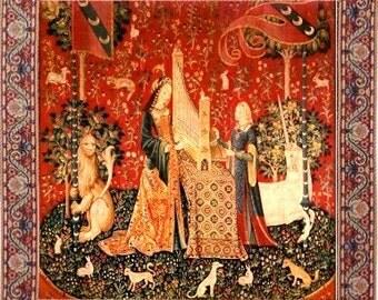 Miniature Replica Tapestry