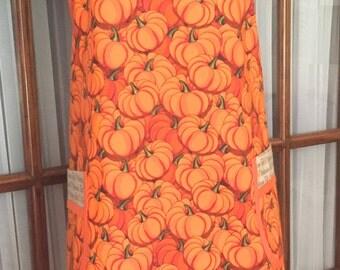 Fall Apron - Pumpkin Apron - Harvest Apron - Retro Apron - Vintage Apron - 40s Apron