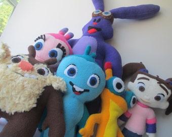 Kate & Mim-mim BUNDLE   -   Stuffed Characters