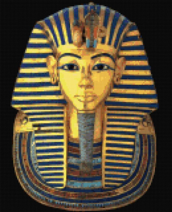 king tut mask template - king tutankhamun sarcophagus cross stitch pattern king tut