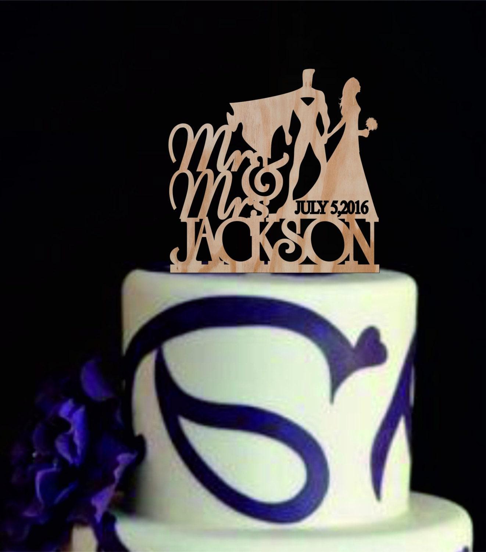 Pics s Superman Wedding Cake Topper