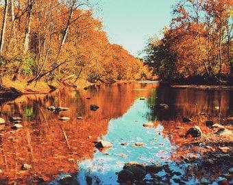 Fine art photo print - Olentangy River at Highbanks