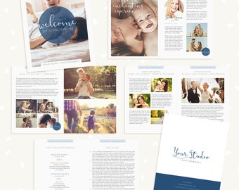 brochure template etsy