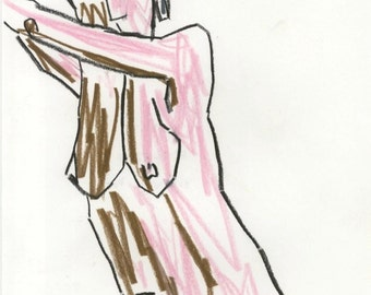 Original Drawing by artcollect: Figure I (2010)