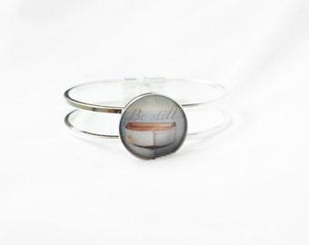 Be Still Bracelet - Message Bracelet - Word Bracelet - Zen Bracelet - Anxiety Relief Bracelet- Calming Bracelet - Inspirational - Healing