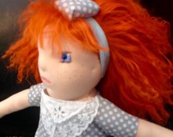 Waldorf, rousse 40cm doll.