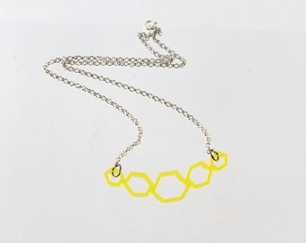 Hexagons Necklace