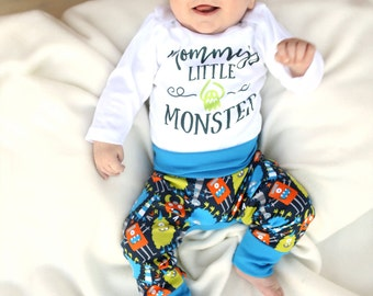 Infant Halloween Bodysuit - Toddler Halloween Shirt - Baby Halloween Costume - Funny Halloween Shirt - Toddler Monster Shirt