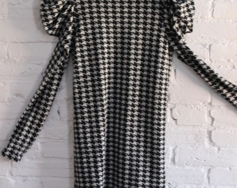 Houndstooth Mini Dress Size Small