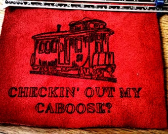 Train Caboose  Patch