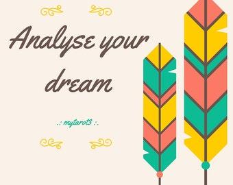 Analyse your dreams - Individual Tarot Reading