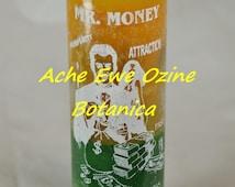 Mr. Money Candle, Don Dinero, Attract Money, Fortune, Success, Prosperity, Veladora de Dinero